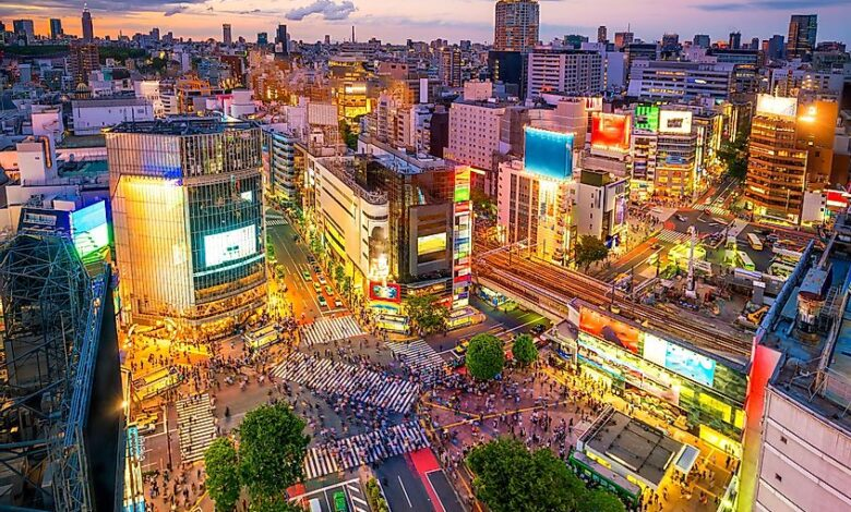 بزرگترین شهرهای دنیا